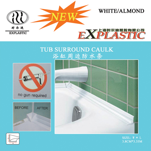 Tub Surround Caulk Strip Products Shanghai Explastic